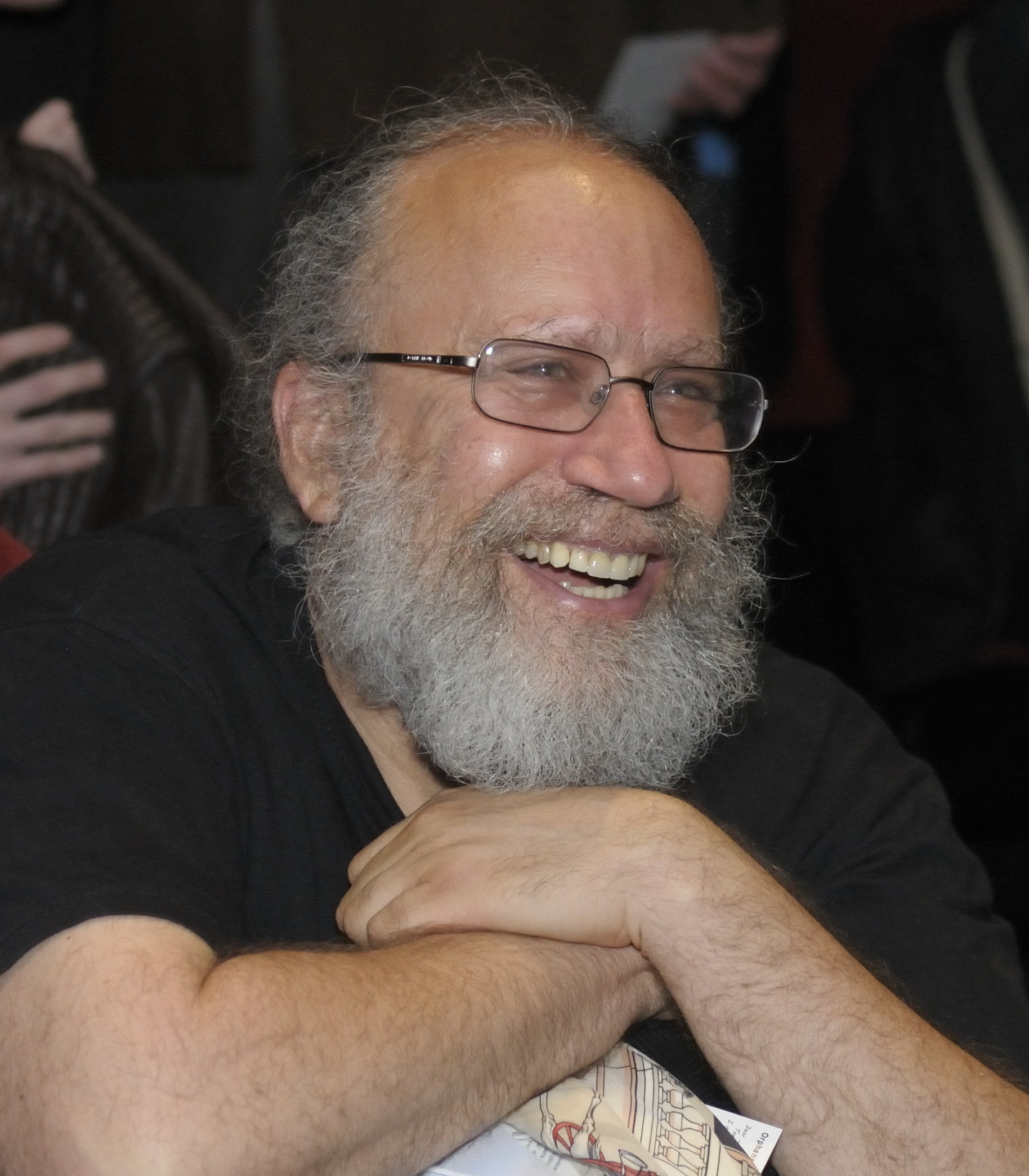 Howard Besser (photo by Dan Streible: http://flic.kr/p/7Wbqr8)