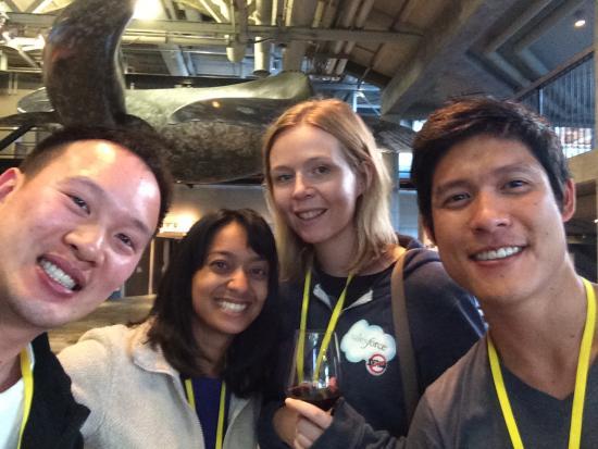 Jenton Lee, Isha Dandavate, Kate Rushton, and Dan Tsai (photo by Isha Dandavate)