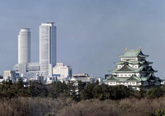 The conference includes a four-day tour of the architecture of central Japan, including Nagoya (above) and Takayama (below).