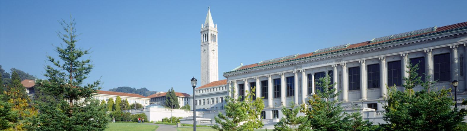 campanile and Doe library UC Berkeley