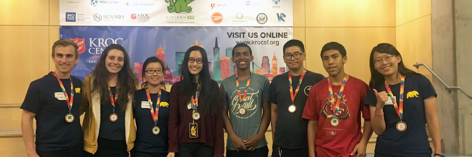 CitizenAR hackathon team