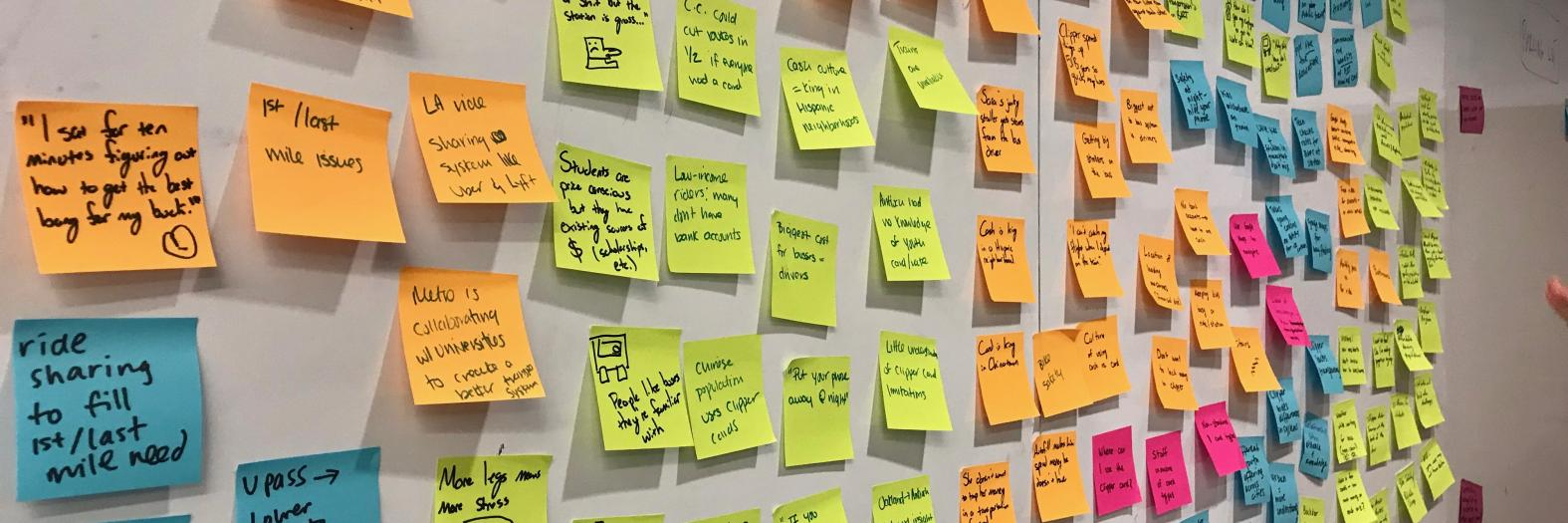 post-its from event