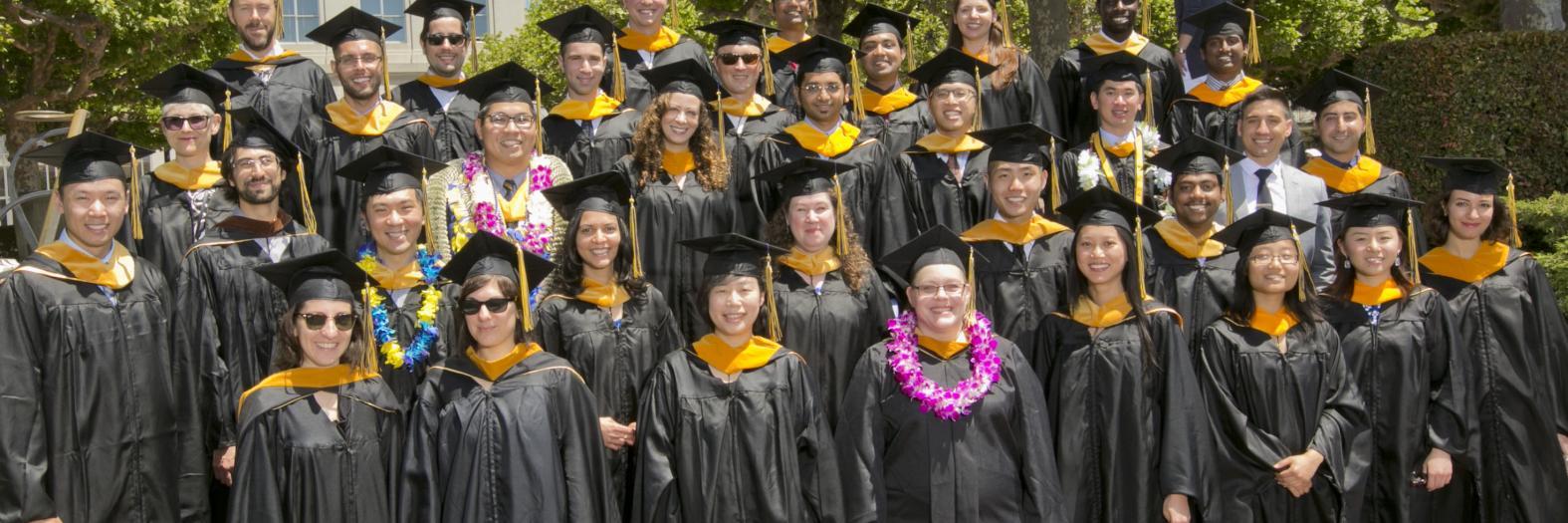 The School of Information graduating class of 2013.