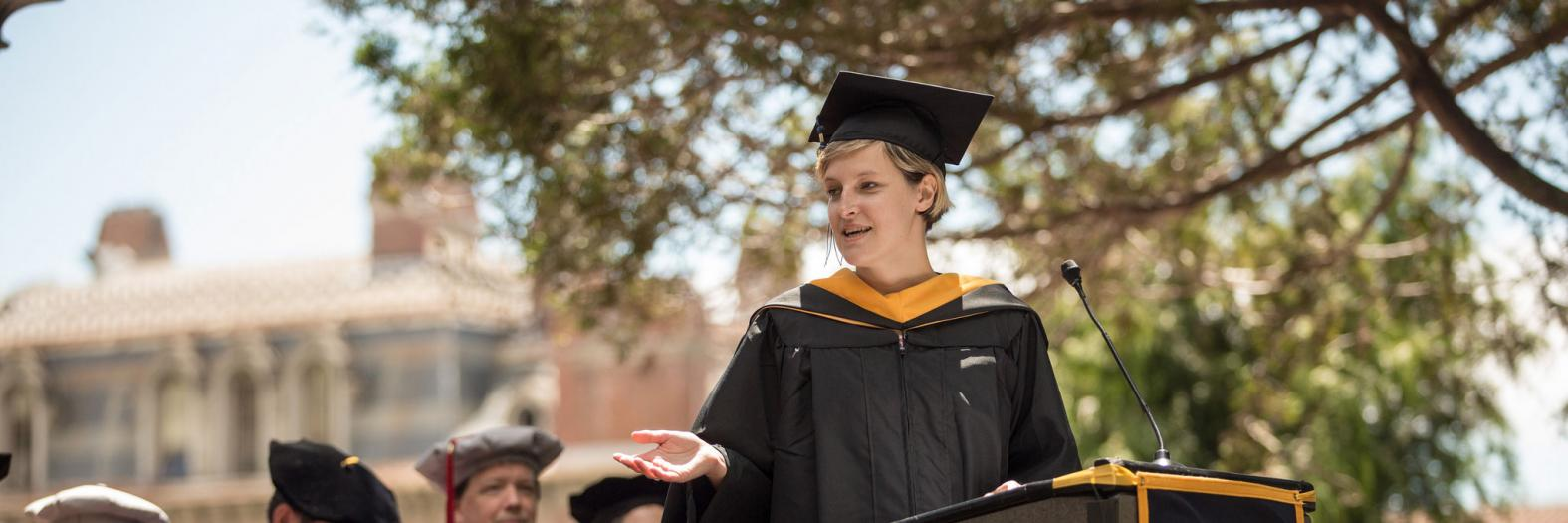 Emily at Graduation