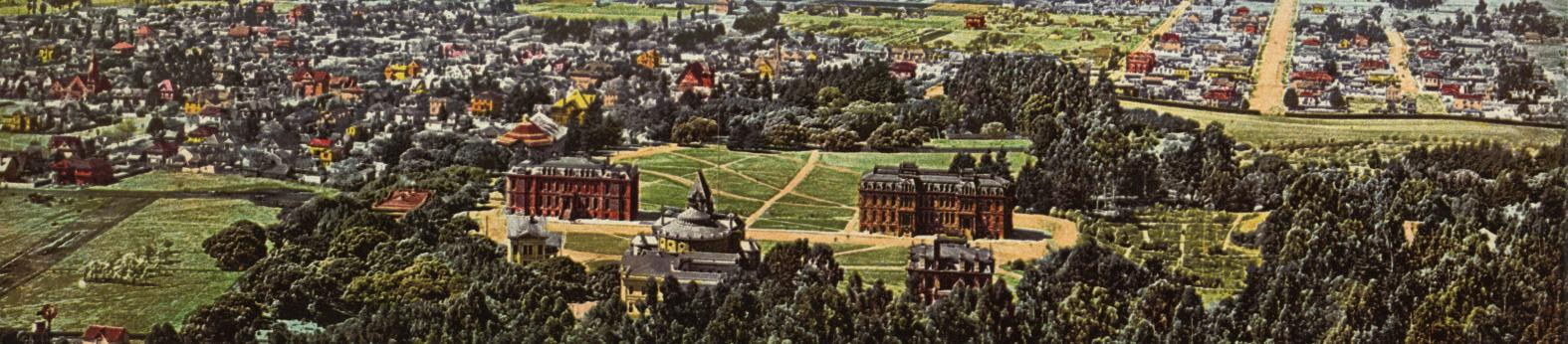 UC Berkeley Campus between 1898 and 1905 (photo courtesy of the Library of Congress)