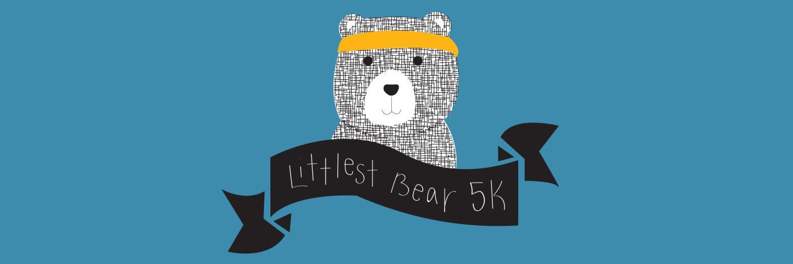 Littlest Bear 5k banner