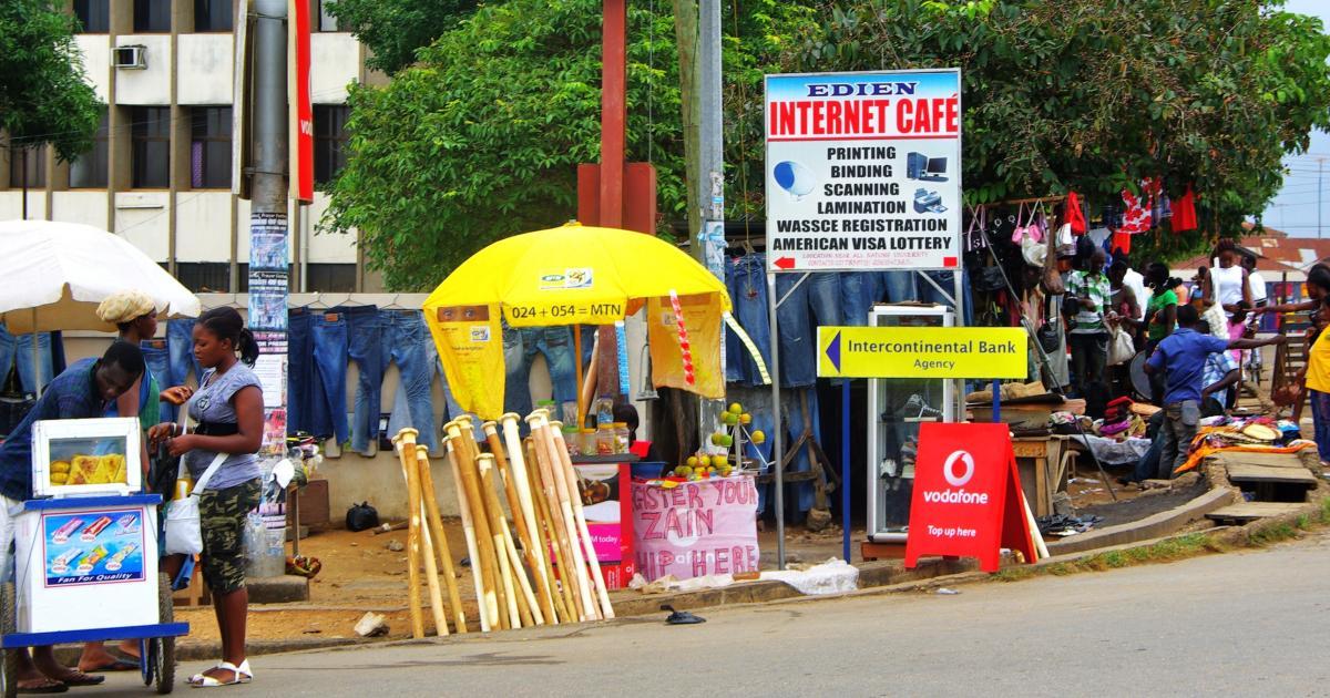 Ghana scams internet love Has an