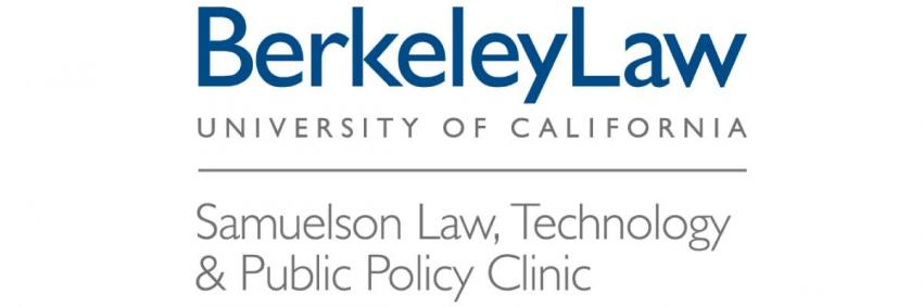 Samuelson Law, Technology & Public Policy Clinic logo
