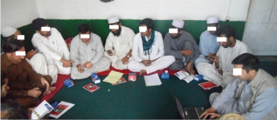 A focus group with employees in Afghanistan