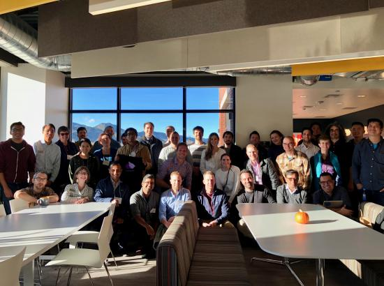 Immersion participants visiting Twitter in Boulder, CO