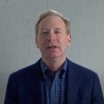 Brad Smith delivers video keynote address