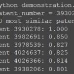 Patent similarity analysis