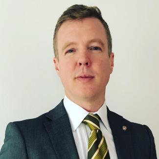 Headshot of Nathan Wiebe