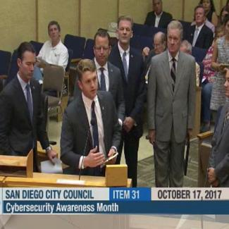 Harrison Andrew Pierce Cybersecurity UC Berkeley University of California Homeland Security Government Politics Political