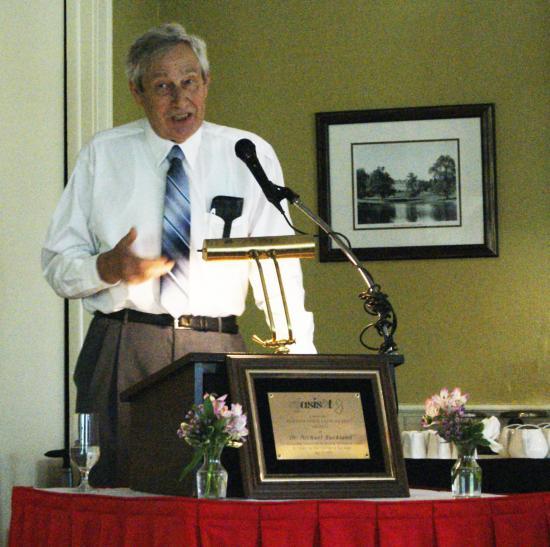 Professor emeritus Michael Buckland