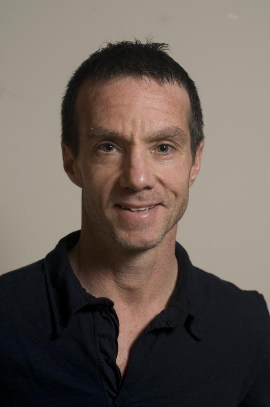 Outstanding professor award recipient Steve Weber