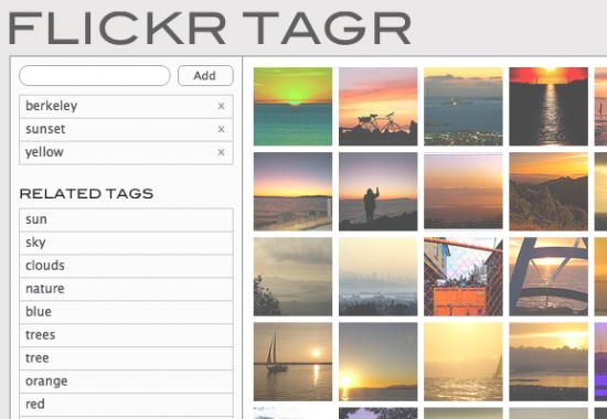 Student Project: Flickr Tagr