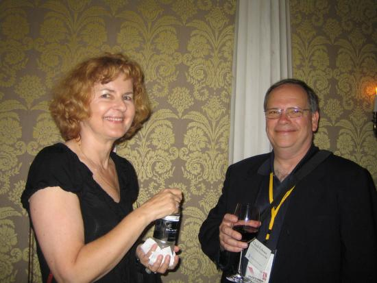 Alumni Joanne Dyla and Chuck Eckman