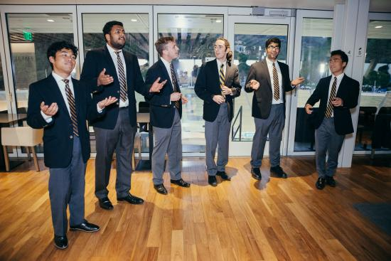MIDS Immersion - Cal Men's Octet