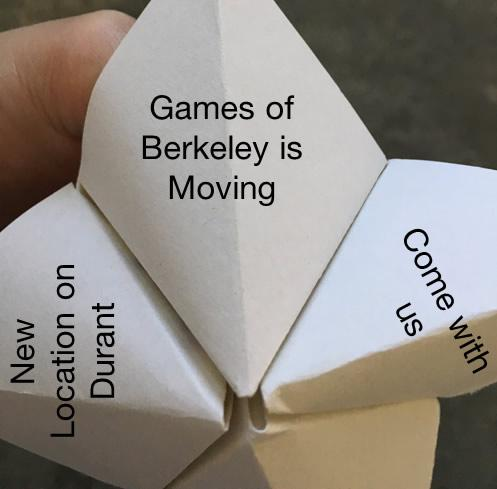 """They also created a prototype of a whimsical folded-paper """"fortune-teller"""" with a variety of reasons that people should visit the new store."""