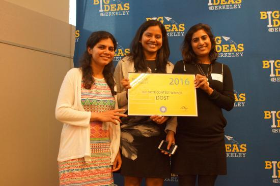 Dost won the grand prize at 2016's Big Ideas competition.