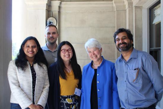 I School Innovators with Chancellor Christ