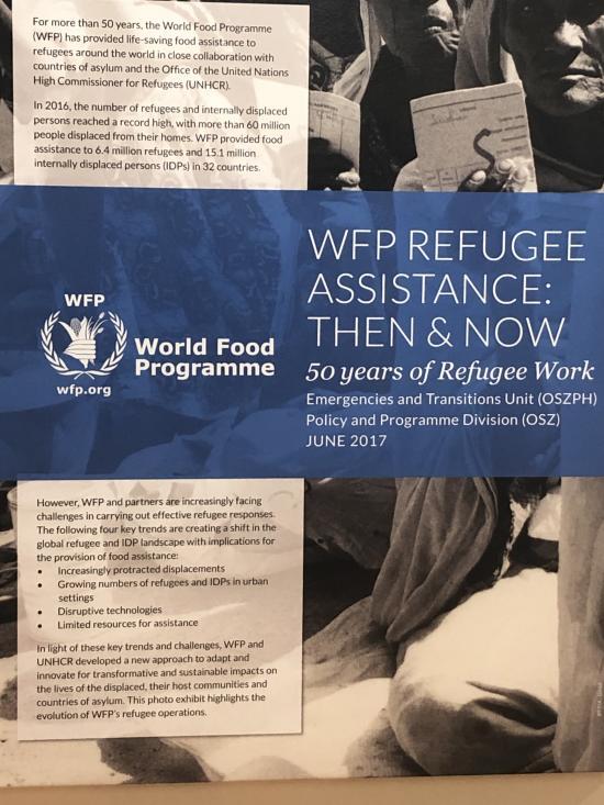 poster at WFP