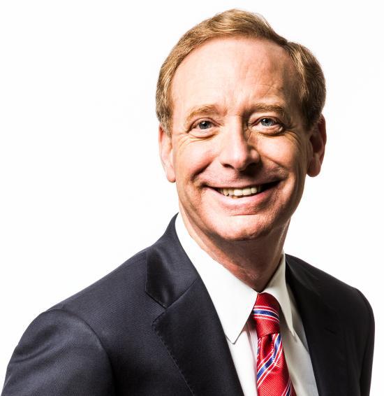 Brad Smith (photo courtesy of Microsoft)