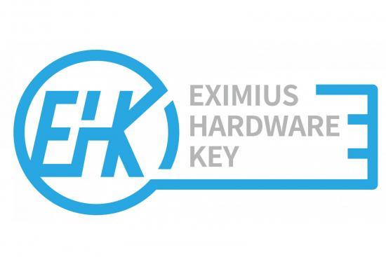 Eximius Hardware Key logo