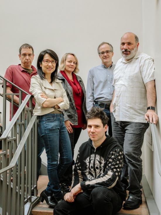 photo of Stanford researchers, including Jen King