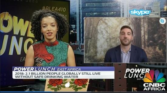 Chandler McCann on CNBC Africa