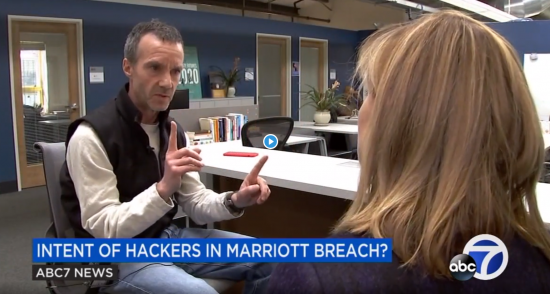 Steve Weber interviews with ABC 7 News