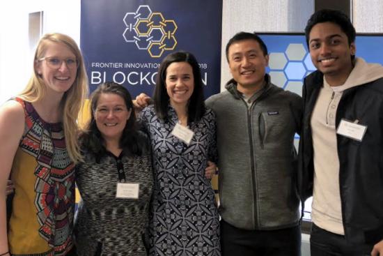 Team Clinico at Blockchain Bootcamp