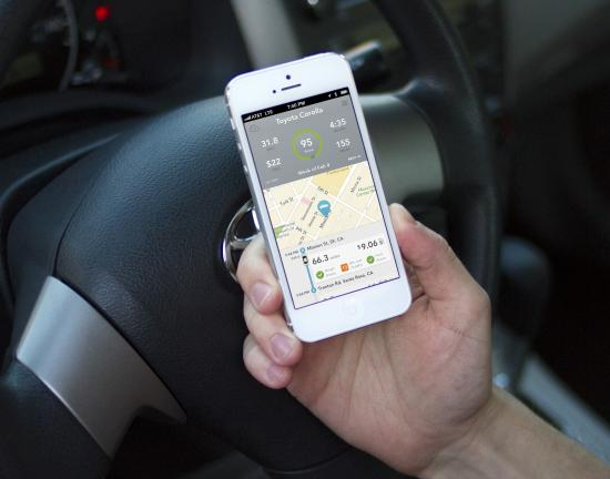 The Automatic Link seamlessly connects to the iPhone app via Bluetooth wireless whenever you drive.