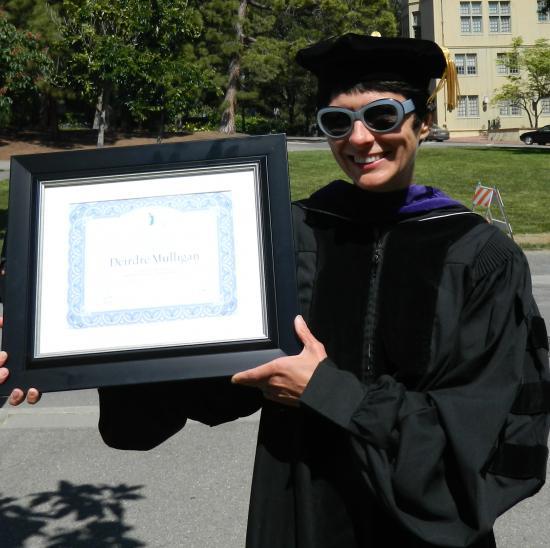 Distinguished Teaching Award winner Deirdre Mulligan