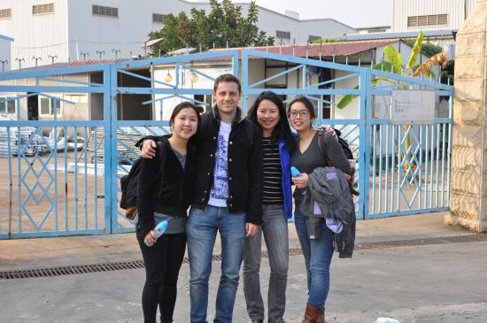 Our team conducted field site research in China in Jan 2015