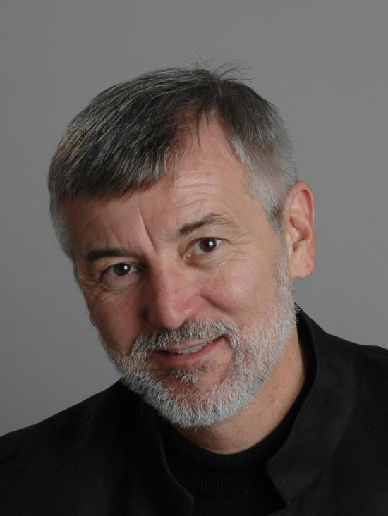 Adjunct professor Bob Glushko, recipient of the IMSA Distinguished Mentor Award
