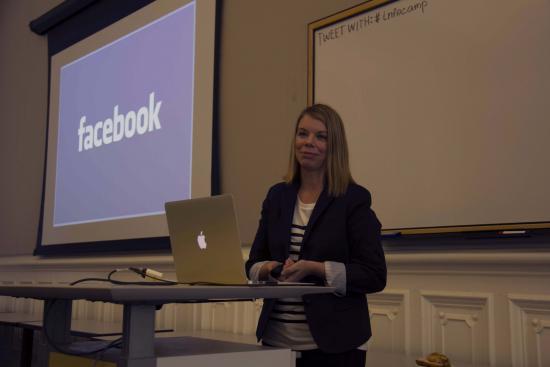 Keynote speaker Diane Murphy of Facebook (photo: Max Gutman)