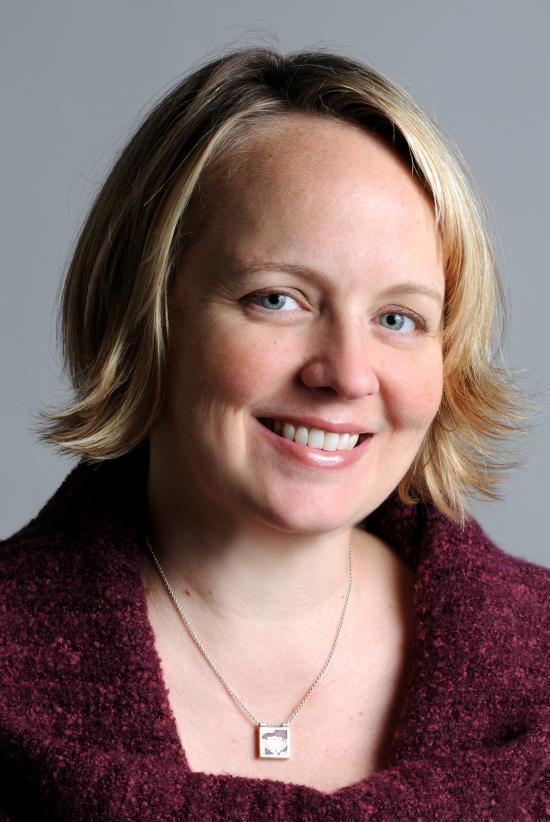 Ph.D. student Jen King