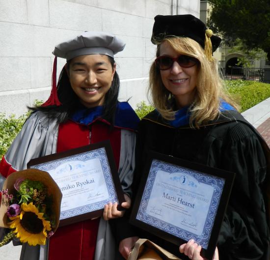Distinguished Faculty Members: Kimiko Ryokai & Marti Hearst