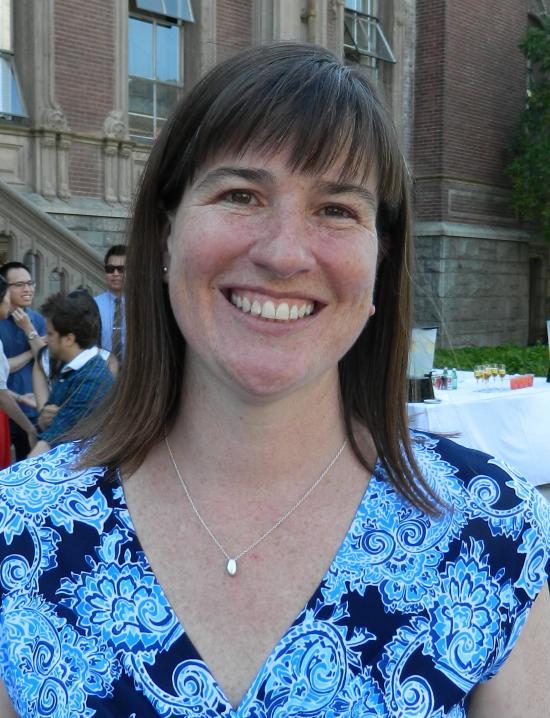 Distinguished Mentor Award winner Meg St. John