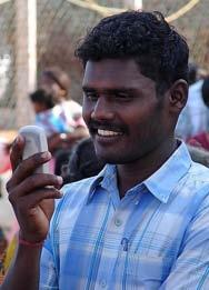 MobileWorks sends data entry jobs to the mobile phones of Indian villagers and slum residents.