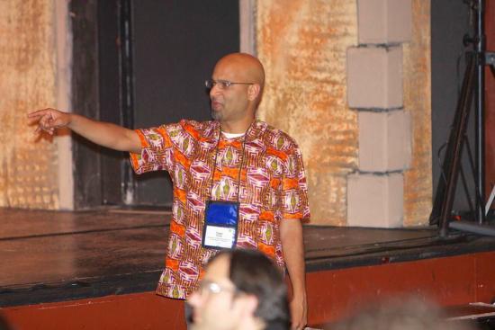 Assistant professor Tapan Parikh (photos courtesy of ICTD2013)