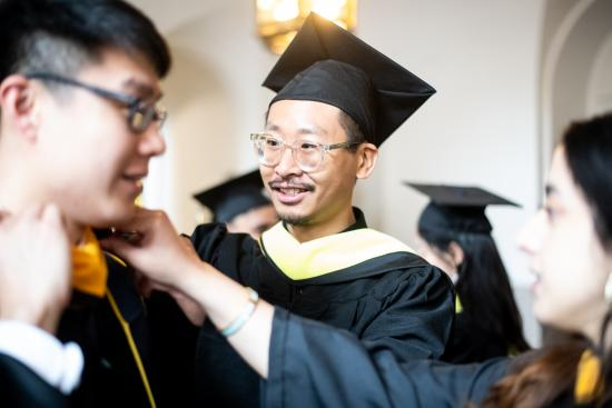 Soravis at the School of Information Spring 2019 Commencement