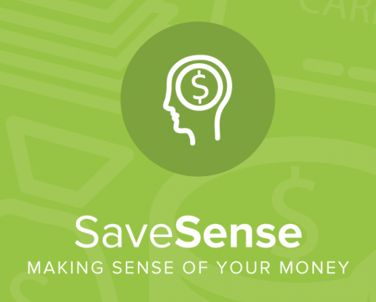 SaveSense is an iOS app that uses behavioral economics techniques to improve individual saving habits.