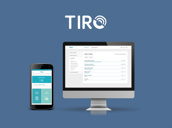 TIRO consists of both an Android app and a web app