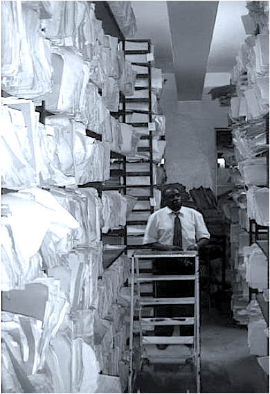 A large hospital in Mulago, Uganda, is drowning in paper records. Shreddr aims to improve the situation.