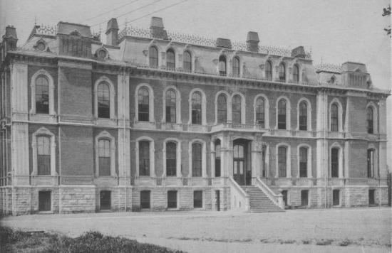 South Hall, 1901 (then the Physics Building); Courtesy of Bancroft Library.