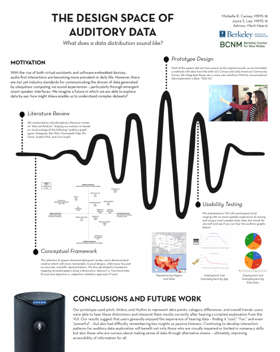 poster of auditory data