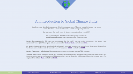 Global Climate Shifts Overview